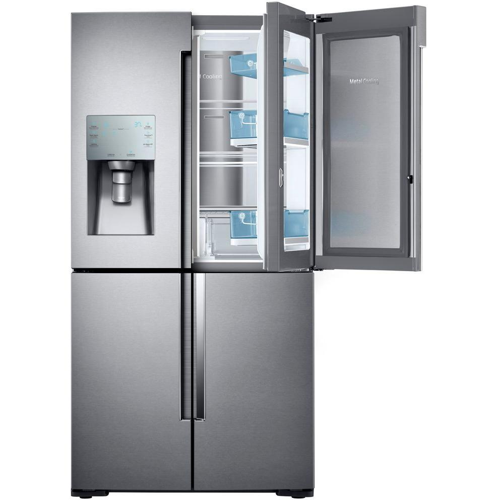 Samsung 4 Door Flex French Door Refrigerator Model RF28K9380SR