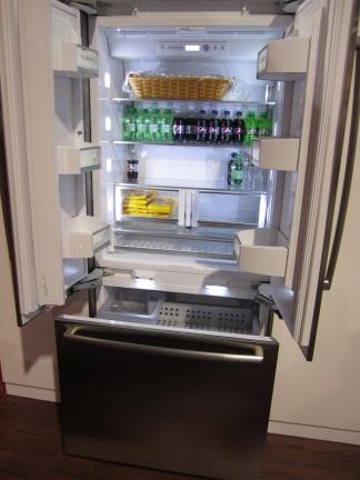 Bosch 800 Series Refrigerator Open