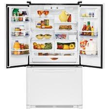 Amana AFD2535DEW French Door Refrigerator