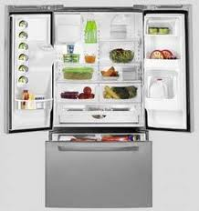 Amana AFF2534 Stainless Steel French Door Refrigerator
