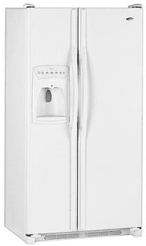 Amana ACD2234HRW Side by Side Refrigerator