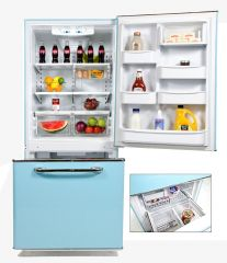 Big Chill Retro Refrigerator Bottom Drawer Freezer
