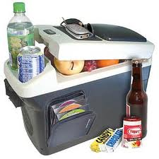 Full Car Refrigerator with CD case