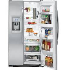 GE PSC25PSWSS Side by Side Refrigerator