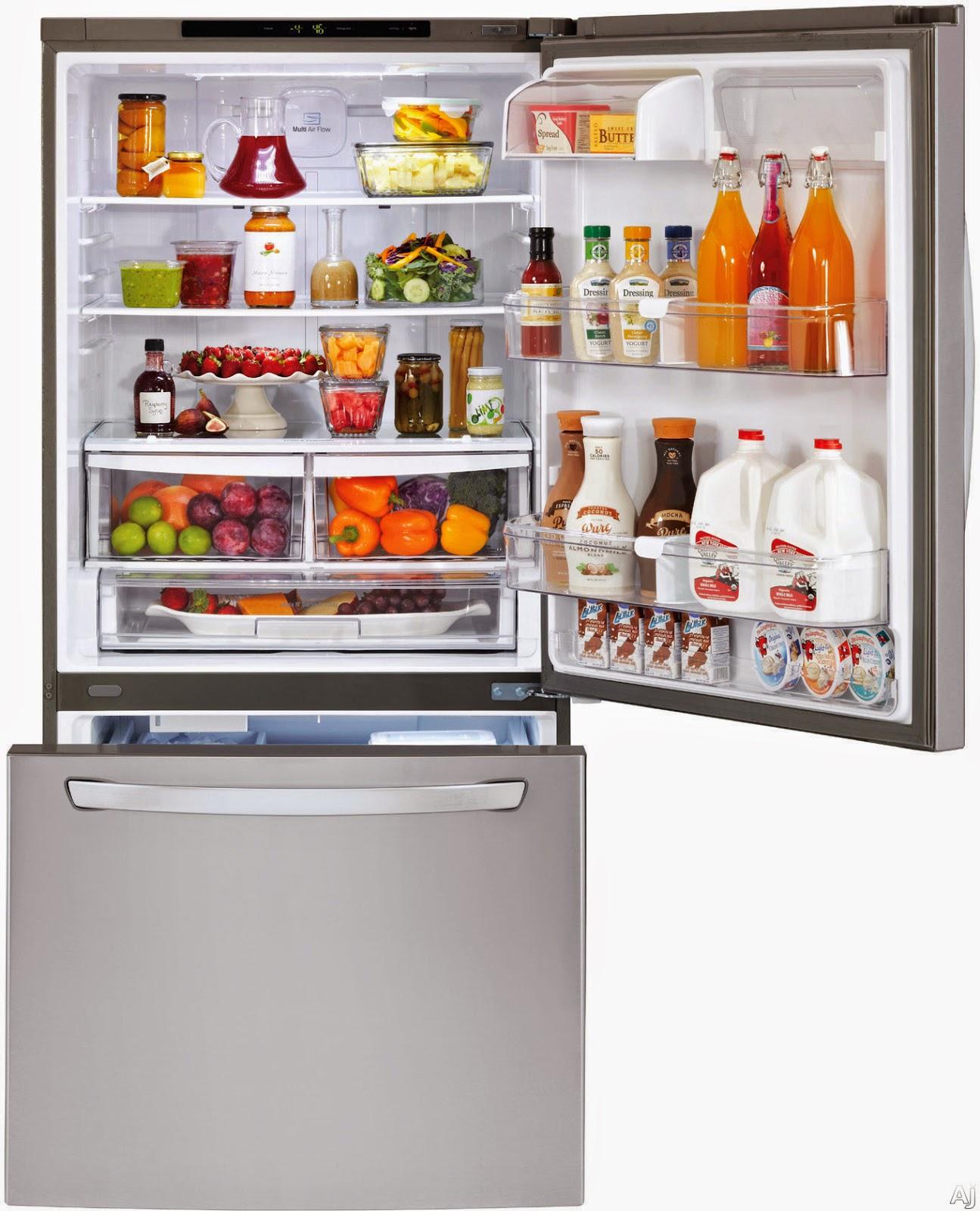 LG LDC22720ST Bottom Freezer Refrigerator