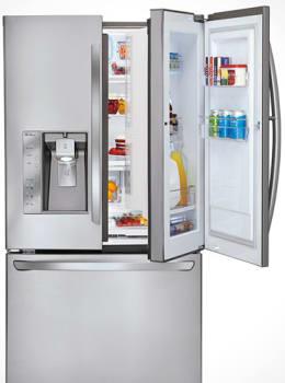 LG LFX31945ST Door in Door French Door Refrigerator