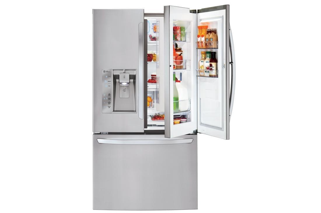 LG LFXS32766s Door in Door French Door Refrigerator