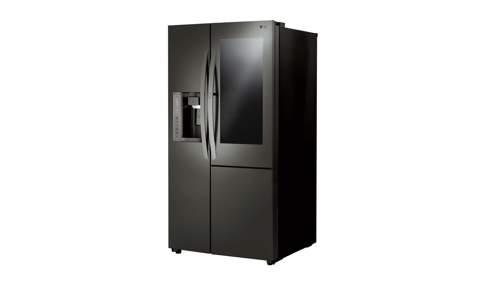LG InstaView Door in Door Side by Side Refrigerator LSXC22396D
