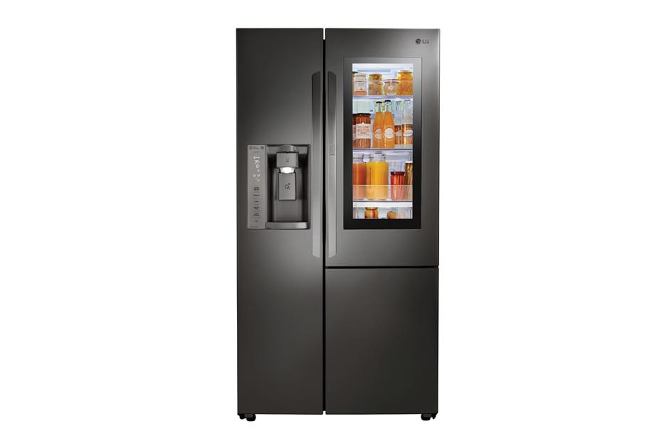 LG InstaView Side by Side Refrigerator