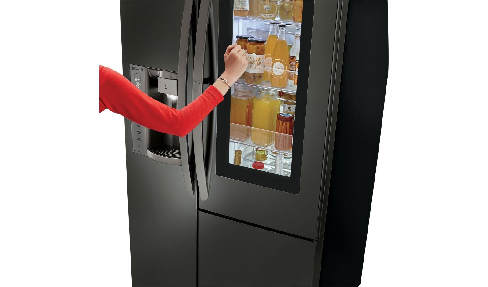 LG InstaView Refrigerator Feature