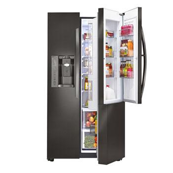 lg door in door refrigerator