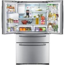 Samsung RF4287HARS Four Door French Door Stainless Refrigerator