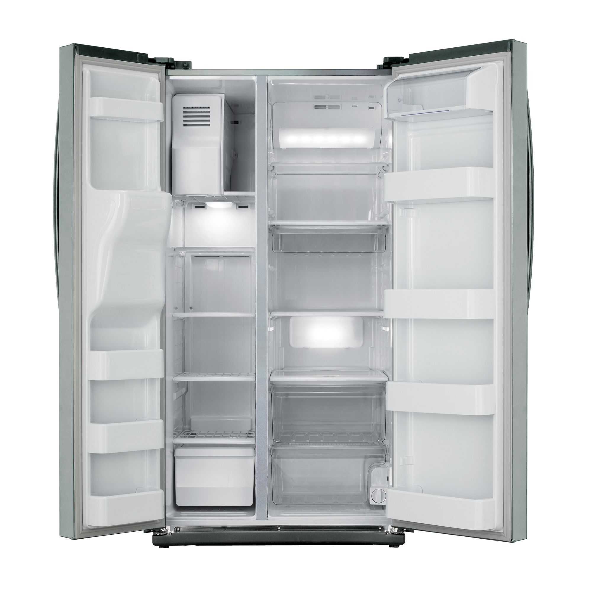 Samsung RS261MDAS Side by Side Refrigerator
