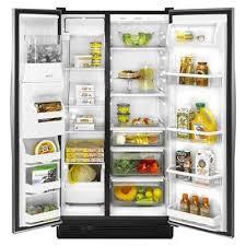 Whirlpool Side by Side Refrigerator ED5FVAXWL