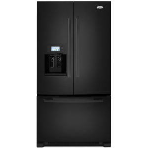 Whirlpool Gold GI7FVCXXY French Door Refrigerator Black Finish