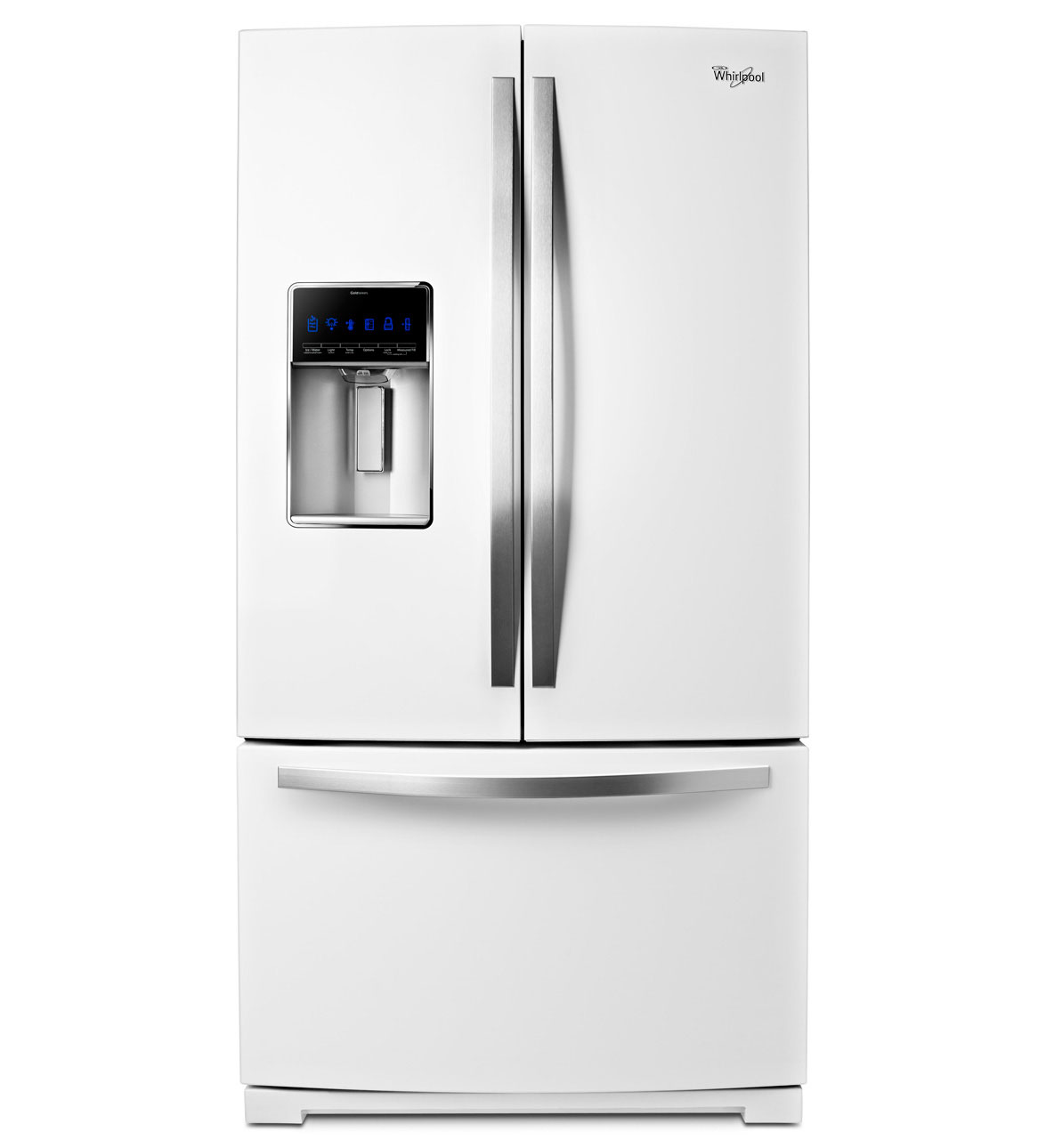 Whirlpool White Ice French Door Refrigerator
