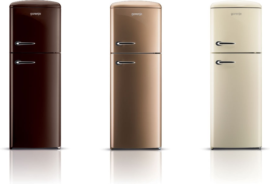 Retro and modern refrigerators big chill - Retro Refrigerator Models