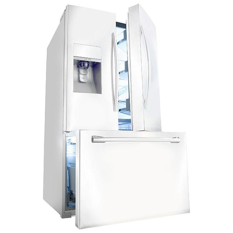 Samsung RF323TEDBWW French Door Refrigerator