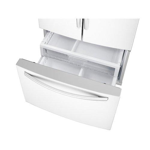 Samsung RF28DEDPWW French Door Refrigerator Open Freezer Drawer