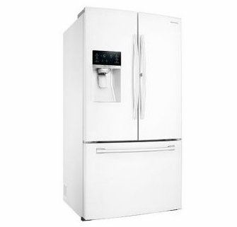Samsung RF28DEDPWW French Door Refrigerator in White