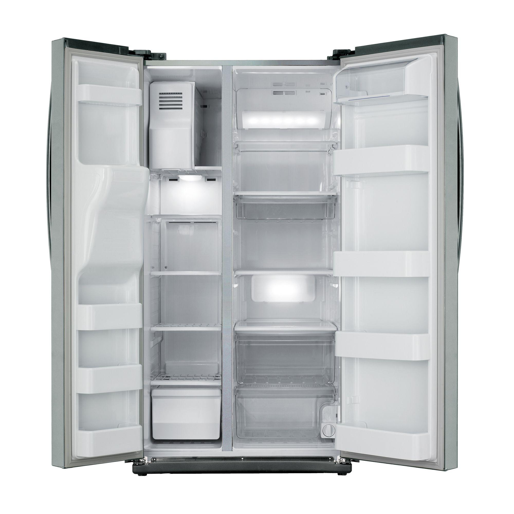 Samsung RS261MDAS Side by Side Refrigerator