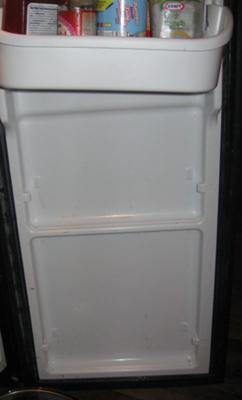 Frigidaire Refrigerator Missing Door Shelves because they have broken off
