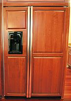 ge monogram refrigerator. My TERRIBLE GE Monogram Side By Refrigerator With Panels Ge