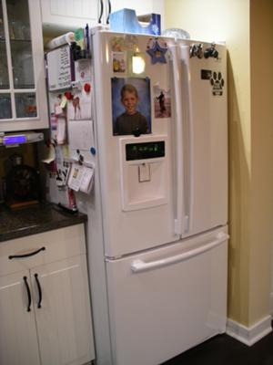 LG Refrigerator Display All 8's